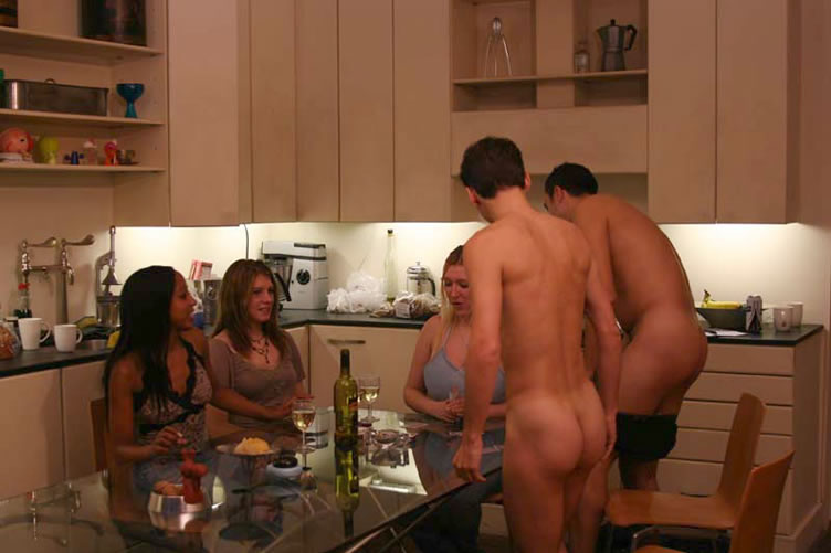 Warm Totally Nude Strip Poker Pictures